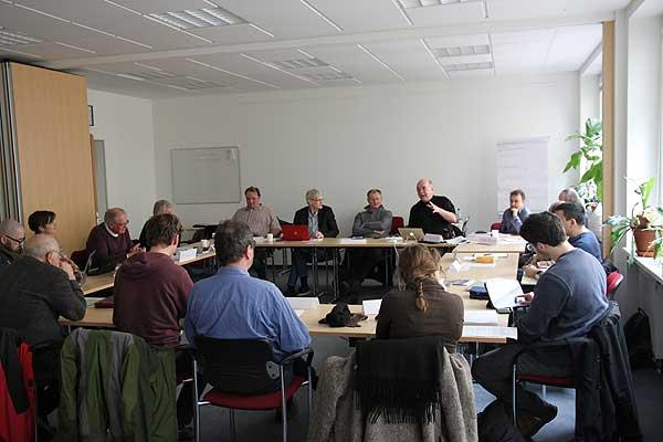 Successful Back-on-Track meeting in Hamburg 12.3.16