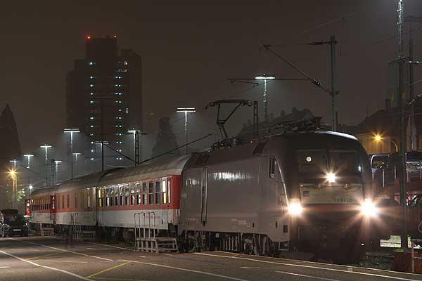 Last DB motorail trains 29./30.10.2016