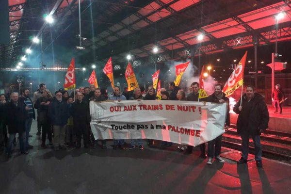 Action week for night trains in France