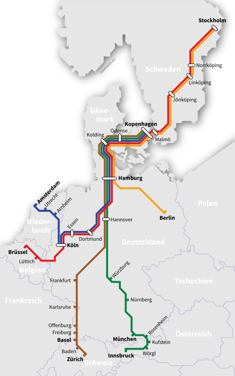 Night Trains To Europe New Opportunities To Scandinavian Sustainable Travelers Back On Track