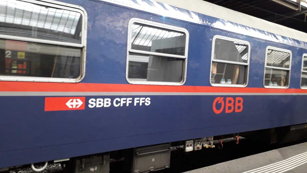 SBB and ÖBB expand cooperation; day and night – Back on Track