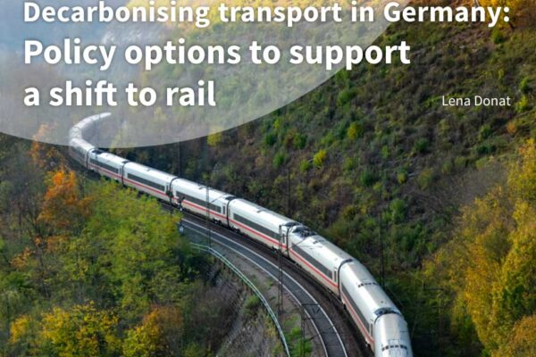 German transport policy has consistently favored motorism