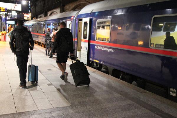 Night trains: Much more, much wider